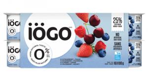 Yogourt IÖGO 0% (16 x 100 g) à 2.98$ au lieu de 5.97$