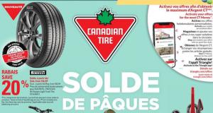 Circulaire Canadian Tire du 1 avril au 7 avril 2021