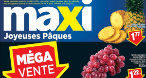Circulaire Maxi du 1 avril au 7 avril 2021