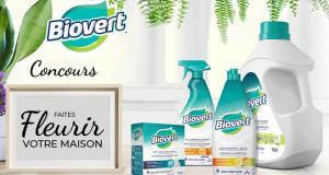 Gagnez 9 paniers de produits Biovert