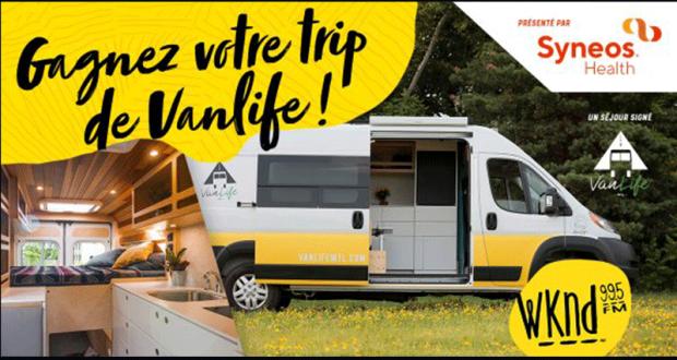 Gagnez la location d'un van aménagé VanLife Montréal