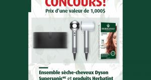 Gagnez un sèche-cheveux Dyson + Produits Herbatint (Valeur de 1000 $)