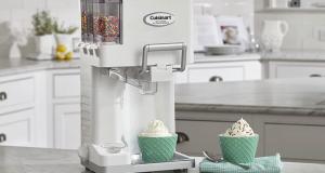 Gagnez une machine à crème glacée de la marque Cuisinart