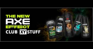 Produits AXE à tester gratuitement