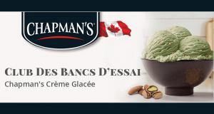 Testez gratuitement les desserts à la crème glacée de Chapman's