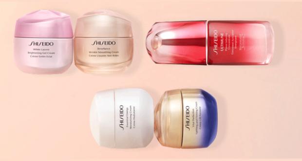Échantillons gratuits des soins Shiseido