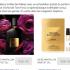 Échantillons gratuits du parfum Black Orchid de Tom Ford