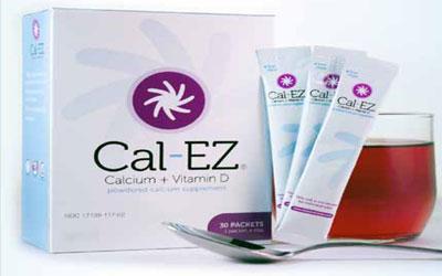 Échantillon gratuit du complément alimentaire Cal-EZ