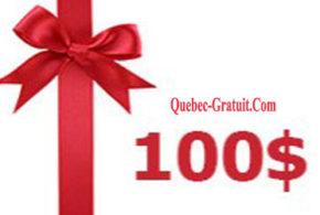Carte cadeau Winners de 100$
