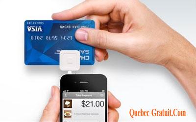 Lecteur de cartes de crédit Square Gratuit