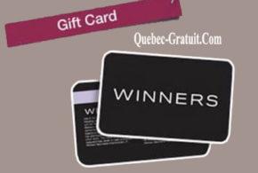 Carte-cadeau Winners de 1000 $