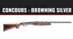 Un fusil Browning Silver édition Hunter