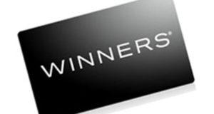 Carte cadeau Winners d'une valeur de 100$