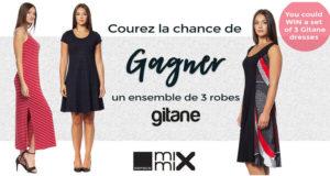 3 robes de marque Mode Gitane