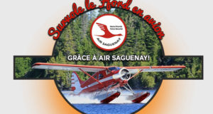 Un survol du Saguenay en avion pour 4 personnes