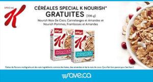 Boîte Gratuite de céréales Kellogg's Special K Nourish
