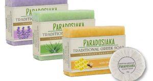 Échantillons gratuits savon à l'huile d'olive Paradosiaka