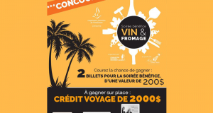 2 billets pour une soirée Vin & Fromage (valeur de 200$)