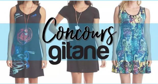 4 ensembles de 3 robes Gitane pour bien profiter de l'été