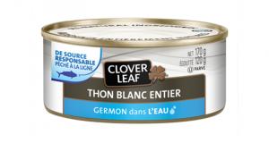 Coupon de 1$ à l'achat de deux produits Clover Leaf