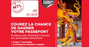 6 passeports double Montréal 48 h à gagner