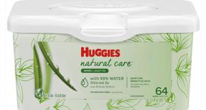 Coupon de 1.50$ à l'achat de 2 emballages de Huggies Wipes