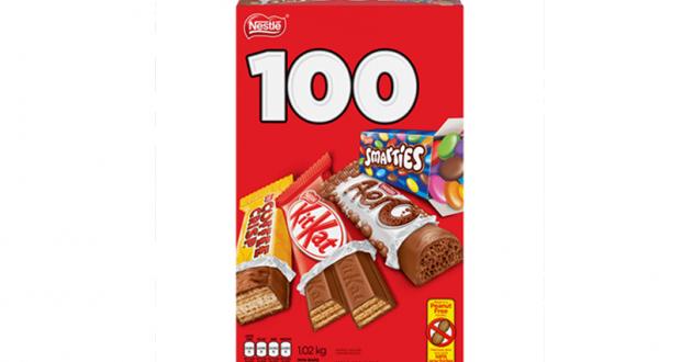 Coupon de 2$ sur une boîte de chocolat Nestlé