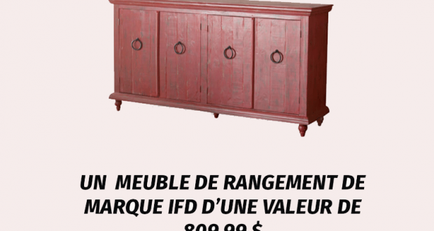 Un meuble de rangement de marque International Furniture Direct