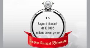 Gagnez une bague à diamant de 10 000 $ unique en son genre