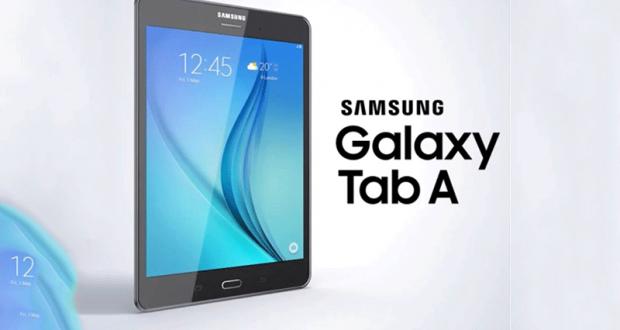 Une tablette Samsung galaxie Tab A