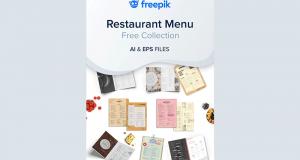 Pack de 10 modèles de menus de restaurant à télécharger gratuitement