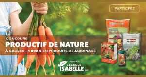 1 000 $ offert par Les Sols Isabelle