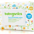 Échantillons gratuits de lingettes pour bébé Babyganics