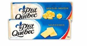 Barre de fromage P'tit Québec à 3.97$ au lieu de 7.99$