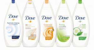 Gel douche Dove à 88¢ au lieu de 4.97$