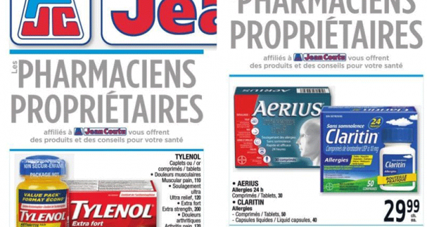 Circulaire Jean Coutu du 22 octobre au 28 octobre 2020