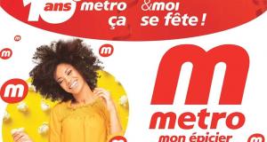 Circulaire Metro du 8 octobre au 14 octobre 2020