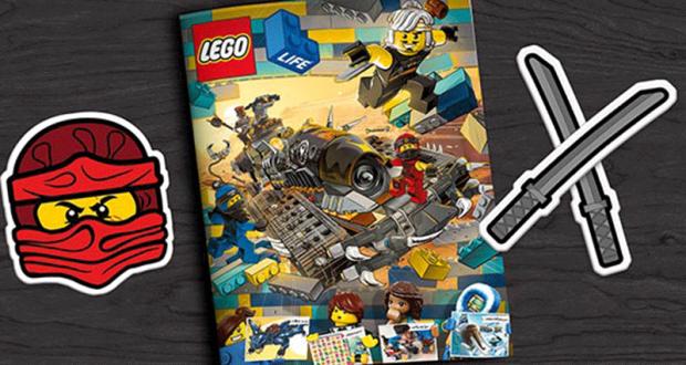 Recevez gratuitement chez vous le magazine LEGO Life