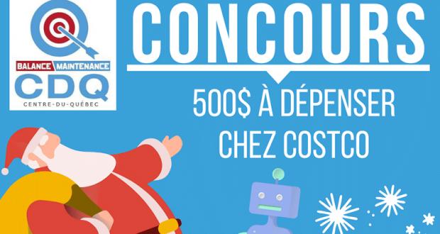 Gagnez 500$ à dépenser chez Costco