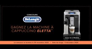 Machine à espresso Eletta Cappuccino Top Delonghi de 2800 $