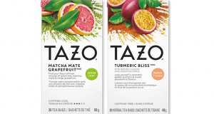 Échantillons gratuits de tisane TAZO