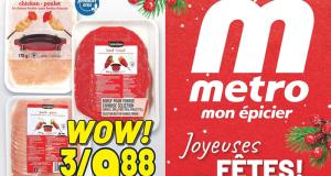 Circulaire Metro du 10 décembre au 16 décembre 2020