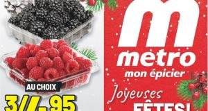 Circulaire Metro du 17 décembre au 23 décembre 2020