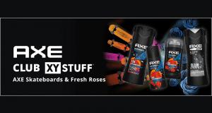 Essayez le parfum AXE Skateboards & Fresh Roses