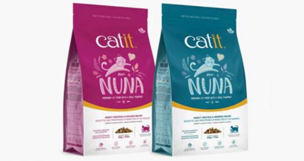 Essayez Catit Nuna nourriture et gâteries pour chats