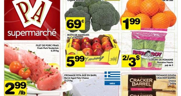 Circulaire Supermarché PA du 22 février au 28 février 2021