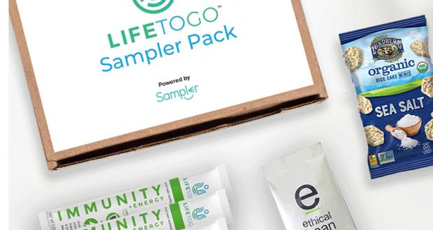 Pack d'échantillons gratuits LifeToGo