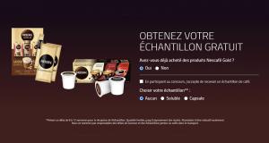 30 000 Échantillons gratuits du café soluble ou en capsule Nescafé