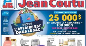Circulaire Jean Coutu du 11 mars au 17 mars 2021