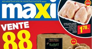 Circulaire Maxi du 25 mars au 31 mars 2021
